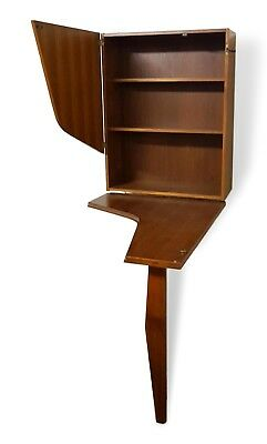 furniture bar swedish openable with table original 60's vintage