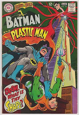 Brave and the Bold #76 Featuring Batman & Plastic Man, Very Fine Condition'