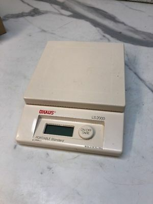 OHAUS LS 2000 Scales 2000g Capacity