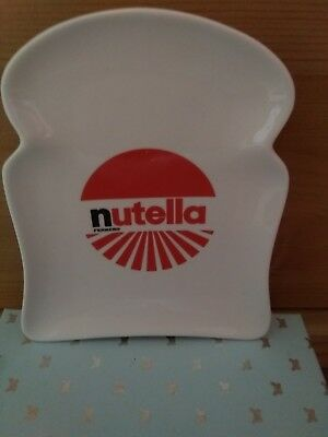 Nutella toast plate. Collectable.