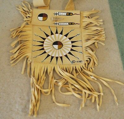 Medicine Wheel Purse By Lakota Artist Sonja Holy Eagle