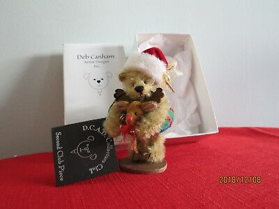 Deb Canham Holiday Santa D.c.a.d. Collectors Club Second Club Piece