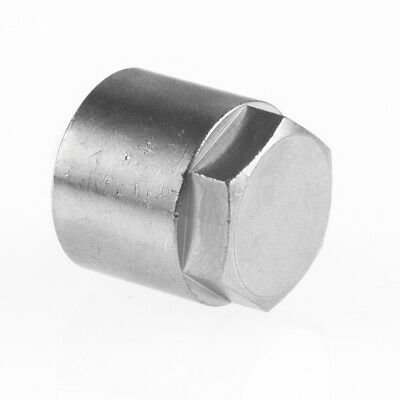 "End Cap Stop End Female BSP Hydraulic / Pneumatic Pipe Fittings BZP 1/8"" To 1/2"""
