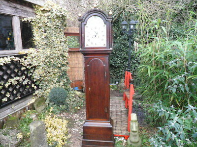 georgian, longcase clock