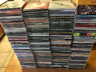 210+ CD's CLASSIC ROCK PUNK COUNTRY MIXED LOT FREE SHIPPING