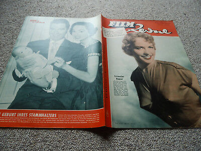 Film Revue Nr. 22 1954, Germaine Damar on Cover, Ann Blyth  on  Backcover!
