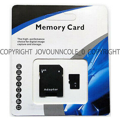 1TB microSD SDXC 1024GB Storage Flash TF Memory Card Class 10 Micro SD Adapter
