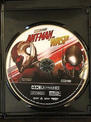 Ant-Man and the wasp 4K Ultra HD disc ONLY