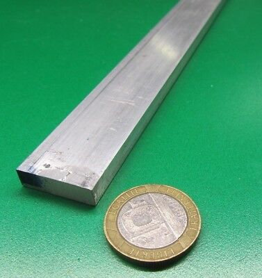 "6061 T651 Aluminum Bar, 1/4"" (.250"") Thick x 3/4"" Wide x 12"" Length, 5 pcs"