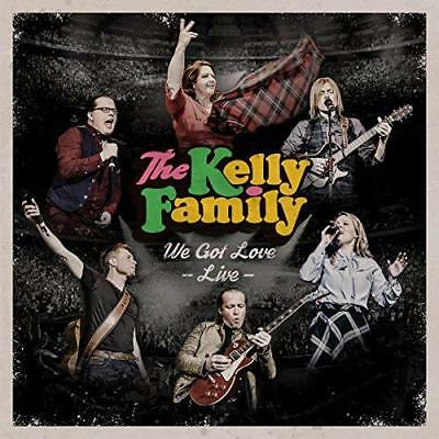 Music CD Kelly Family We Got Love - Live in Dortmund 2017 (2 Cds Album) New