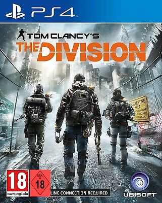PS4 Game Tom Clancy's the Division New