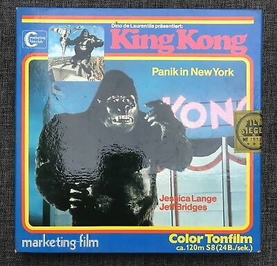SUPER 8 FILM    KING KONG - PANIK IN NEW YORK   925   ca. 120 m.
