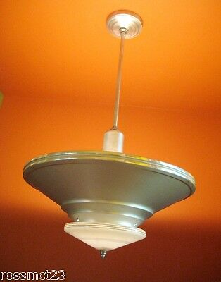 Vintage Lighting antique pair 1930s Art Deco lights More Available