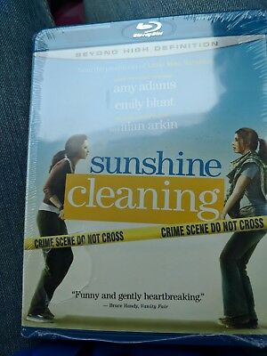 Sunshine Cleaning- Blu Ray Amy Adams Emily Blunt Alan Arkin Widescreen