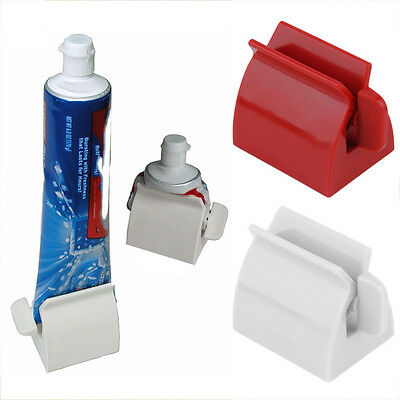 Rolling Tube Toothpaste Squeezer Toothpaste Easy Dispenser Seat Holder Stand TO