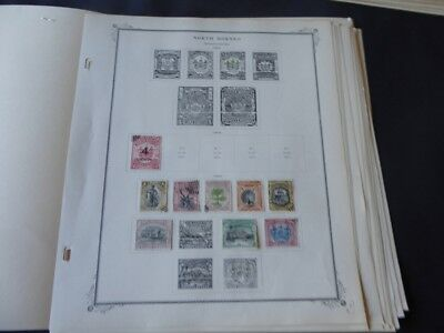 North Borneo 1887-1960 Stamp Collection on Scott Specialty Album Pages