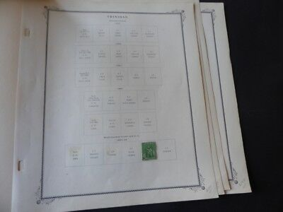 Trindad 1864-1909 Stamp Collection on Scott Specialty Album Pages