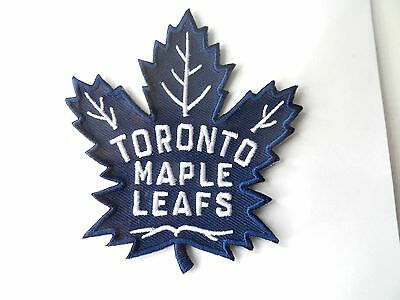 Official TORONTO MAPLE LEAFS Iron-On PATCH New NHL Ice Hockey Canada