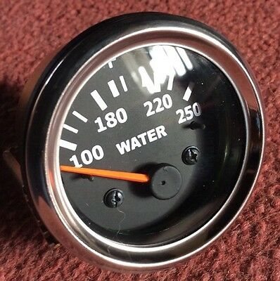 NEW CLASSIC / MODERN TEMPERATURE GAUGE ELECTRIC - TESTED 52mm