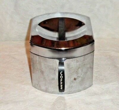Vintage Kromex Chrome Coffee Canister