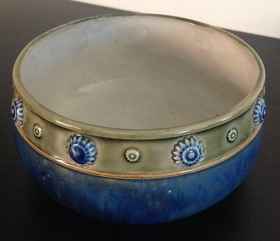 Rare Early 1900's Royal Doulton Lambeth Stoneware Bowl.