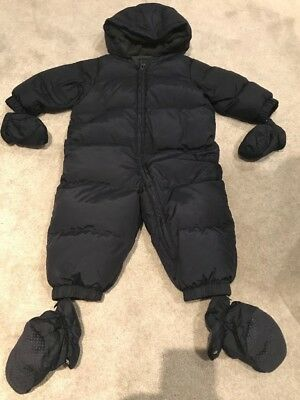Gap Navy Snow/winter Suit 12-18 Months