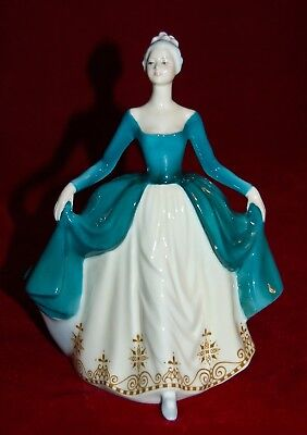 "ROYAL DOULTON  ""Regal Lady"" HN2709 REG.275$ Magnificent Figurine!"