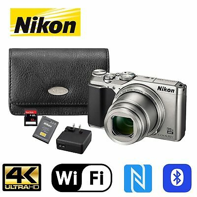 Nikon COOLPIX A900 20MP CMOS Sensor Digital Camera Bundle with 35x Optical Zoom