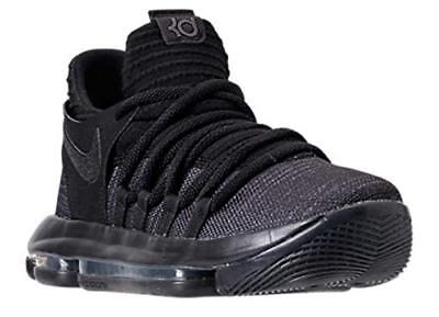 Nike Zoom KD10 (GS) Basketball Shoes Black Dark Gray 918365-004 Youth NEW 1c4971be3