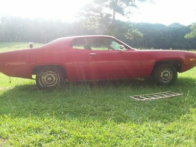 1972 Plymouth Satellite  1972 Plymouth siatellite