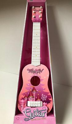 Childrens Guitar Childs Kids Wooden Acoustic Classic Musical Instrument Toy