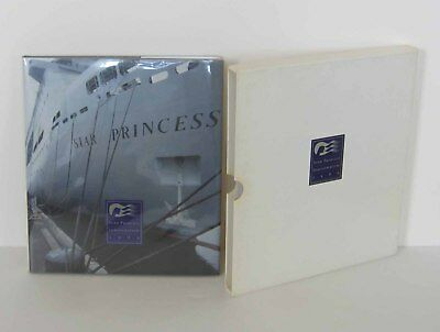 STAR PRINCESS INAUGURATION 1989 Hardcover in Presentation Slipcase