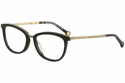 dc3d06ca836 CH Carolina Herrera Eyeglasses VHE094K VHE 094K 0F47 Black Optical Frame  52mm