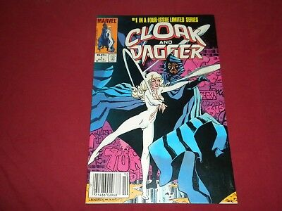 Cloak and Dagger #1 marvel 1983 bronze age 8.0/8.5 comic! Lots of new keys up!!!