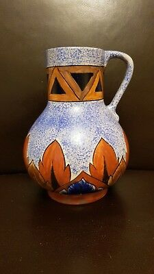 Clews & Co Chameleon Ware Art Deco Jug c.1920s-30s.