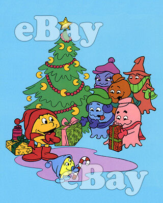 Rare! PAC-MAN CHRISTMAS Cartoon TV Photo #1 HANNA BARBERA Studios