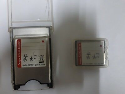 LEICA Geosystems 256MB COMPACT FLASH CARD Art.Nr.733 257 Type MCF 256