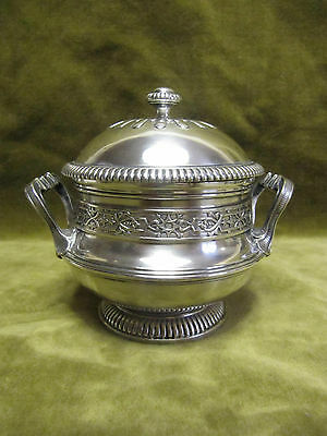 late 19th c french sterling silver single serve sugar bowl LXIV st Boin Taburet