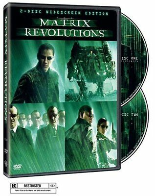 The Matrix Revolutions (Two-Disc Widescreen Edition) [DVD] NEW!