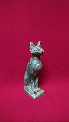 Ancient Egyptian rare Statue of God Bastet (1323 BC)