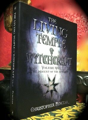Penczak: Living Temple Of Witchcraft Vol I ~ Large Sc 1St 2008 ~ Magick * Wiccan