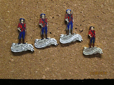 Extremely Rare  Southbridge Ma Elks Lodge Collectable Pins Bpoe