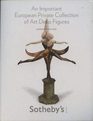 Sothebys May 2010 An Important European Private Collection of Art Deco Figures