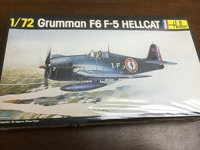 heller 1/72 272 grumman f6 f-5 hellcat vintage model aircraft kit sealed