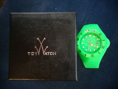 Toy Watch Jelly Disco Only Time Green Neon