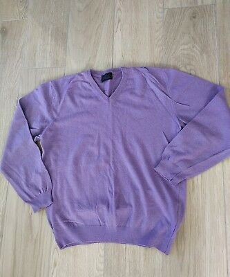 Stns by Stones Pullover Gr. XL Lila Made In Italy