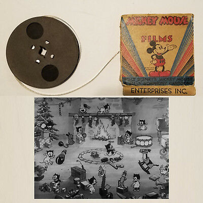 Mickey Mouse Plays Santa Claus Animated Short Film 1932 Disney Silly Symphony