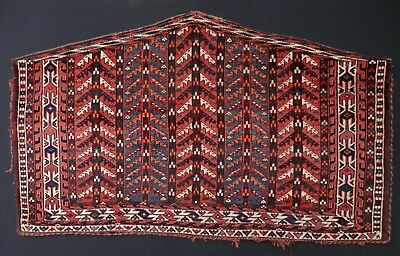 EXCEPTIONAL Antique 1865-1875 YOMUD Turkoman TREE Asmalyk Camel Wedding Trapping