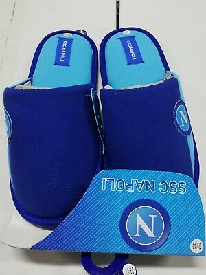 PANTOFOLE ssc NAPOLI made in italy idea raglo INVERNALE