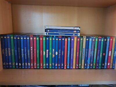 Spine magnet steelbook bluray Clasicos Disney (1-58) + 2 clasicos honorificos